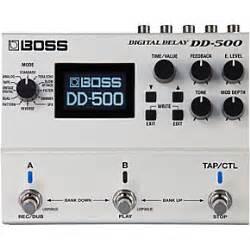 boss dd 3 digital delay pedal musicians friend boss dd 500 digital delay guitar effects pedal musician