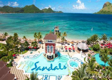 st lucia all inclusive sandals best information on st lucia all inclusive packages and