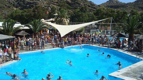 photos far out beach club mylopotas ios greece