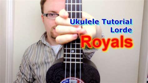 tutorial ukulele riptide royals lorde ukulele tutorial berceuse pinterest