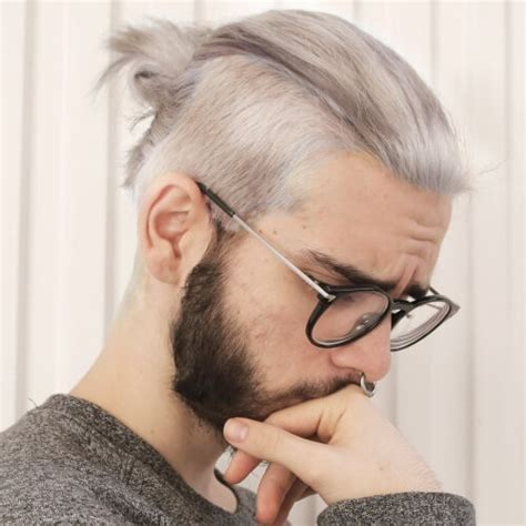 mens pawnee top knot mens pawnee top knot 50 undercut hairstyle ideas for men
