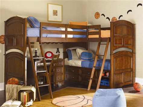 boys bedroom decorating ideas with bunk beds room - Bunk Beds For And Boy