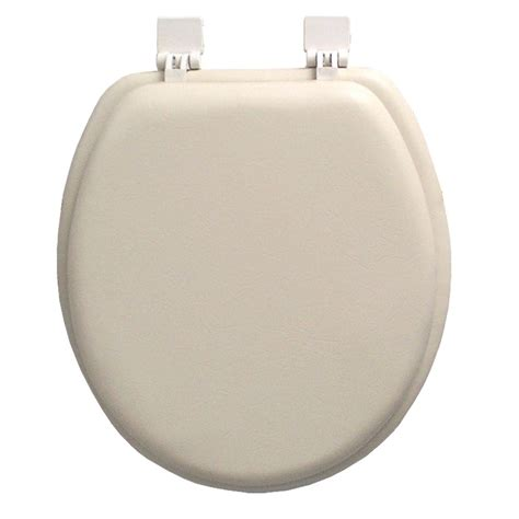 soft toilet seat classique ginsey closed front soft toilet seat in chagne ivory 01520 the home depot
