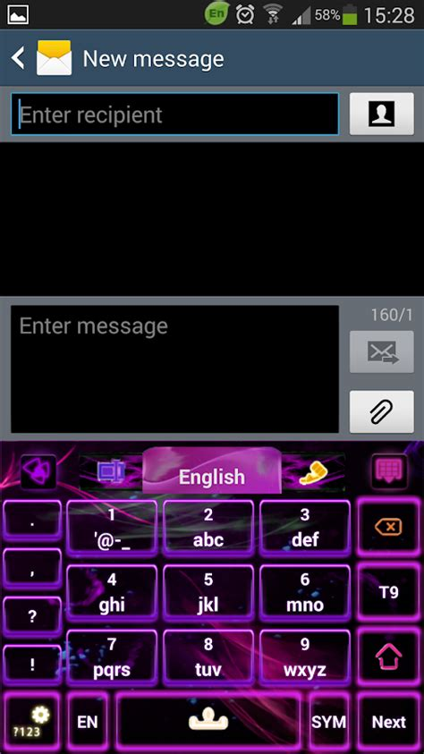 go keyboard themes purple purple flame go keyboard theme android apps on google play