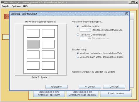 Etiketten Drucken Programm Download Kostenlos by Barcode Forge Bei Freeware Download