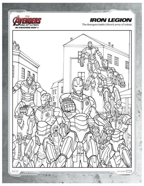 marvel coloring pages age of ultron marvel avengers iron legion coloring page mama likes this