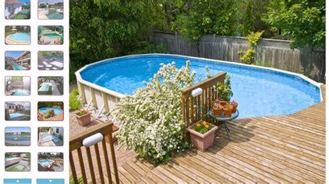 Kleiner Swimmingpool Garten