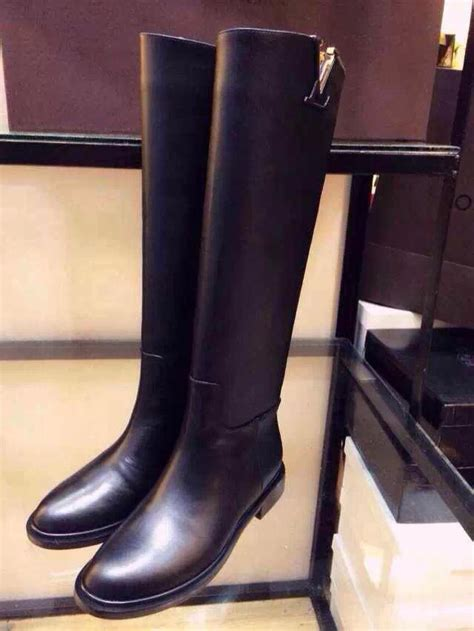 aliexpress boots 2014 winter new european and american tall leather boots
