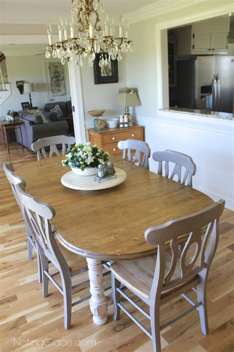 Dining Table Makeover Farmhouse Style Table Makeover For 20 Hometalk