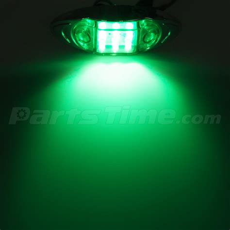 led boat running lights 6pcs led marker running lights motorcycles boat trucks 6