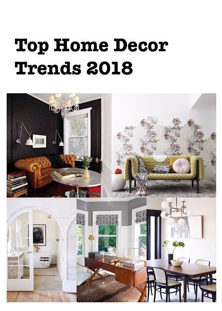 home decor diy trends the top home decor trends for 2018 harlow thistle