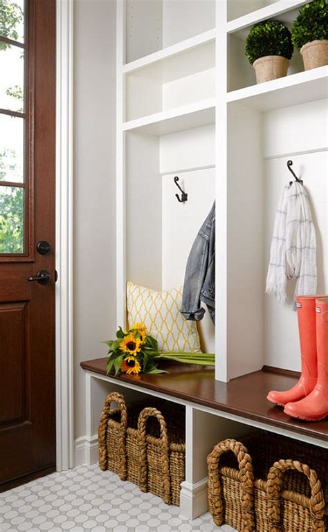 Best Entryway Bench 32 Small Mudroom And Entryway Storage Ideas Shelterness