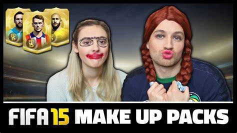 Make Up Irwan Team make up packs fifa 15 ultimate team pack opening
