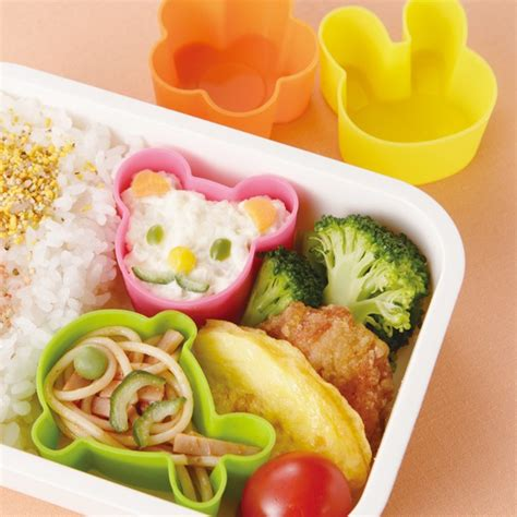 Silicon Die Cut Food Cup Tomica microwavable bento silicone food cup 4 animal for food cup