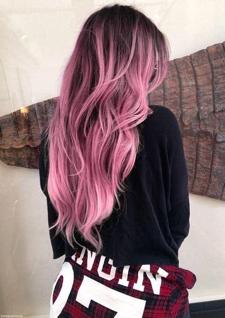 pink hair brown shadow root chocolate strawberry ombre of chocolate strawberry hair color roots hair hair hair hair styles and pink ombre hair
