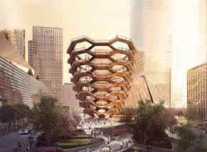 Design House Interiors York Thomas Heatherwick Unveils Vessel For Ny S Hudson Yards
