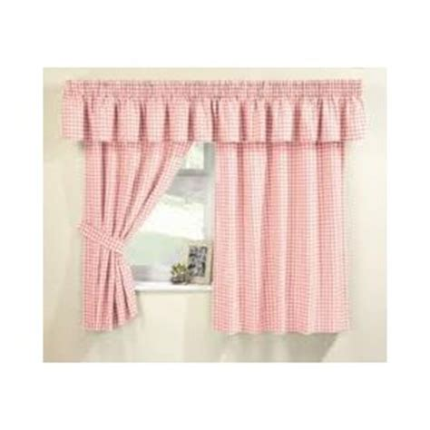 pink gingham curtains maisy pink gingham curtains pelmet sold separate net