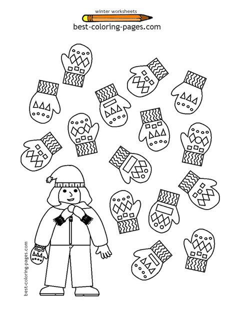 kindergarten activities winter winter worksheets kindergarten worksheets activities for
