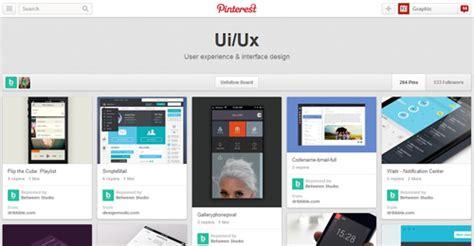 ui design expert 30 best ui ux pinterest boards you must follow