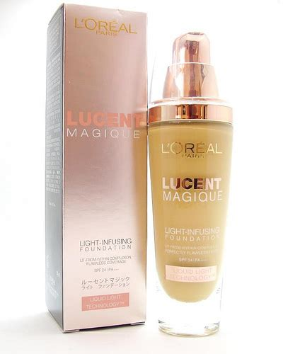 Harga Loreal Liquid Foundation Lucent Magique l oreal lucent magique foundation project vanity
