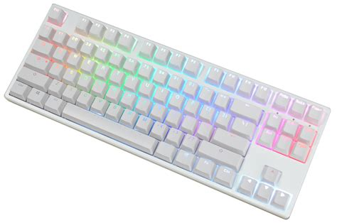 Keyboard Ducky One Blue Switch White Led Green Dkon1508s Kere ducky one rgb white tkl mechanical keyboard blue cherry mx