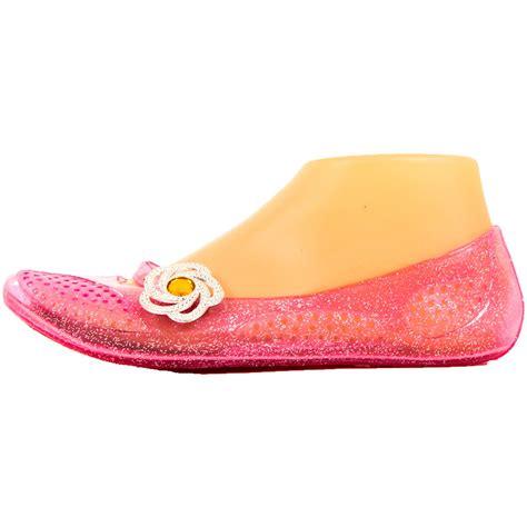 plastic flat shoes womens jelly ballet flats shoes glitter plastic rubber