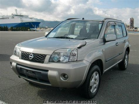 beforward nissan used 2004 nissan x trail s ua t30 for sale bf105385 be