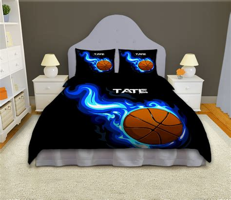 basketball comforter set size boys basketball personalized comforter set sports bedding