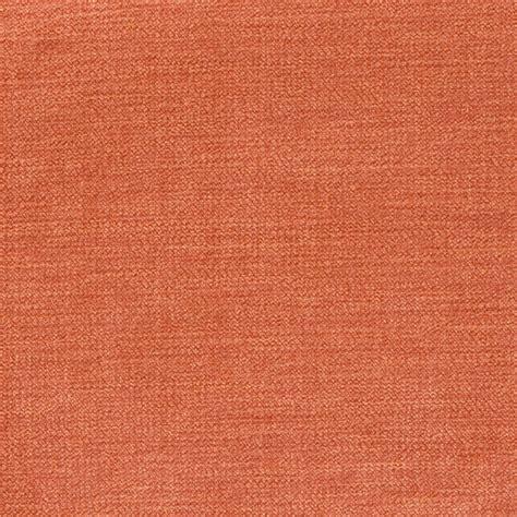 Upholstery Fabric Orange by Cayenne Orange Solid Velvet Upholstery Fabric