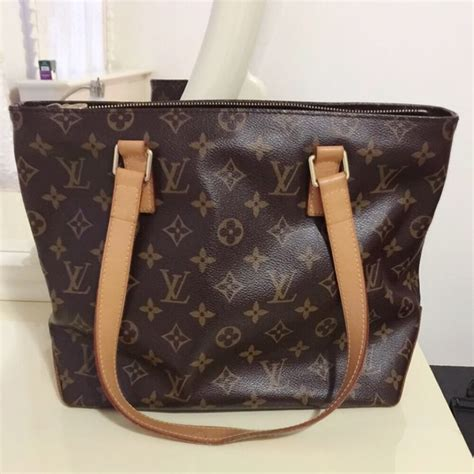 Totebag Lv louis vuitton bags authentic lv cabas piano tote bag pm