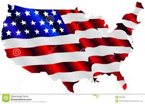 united states map flag clipart american flag map royalty free stock photos image 8620848