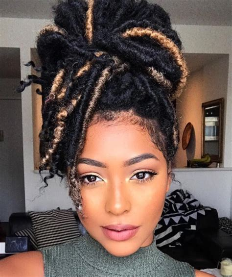 Hairstyles For Locs by 35 Faux Locs Hairstyle Ideas Inspiration Hairstyle Guru