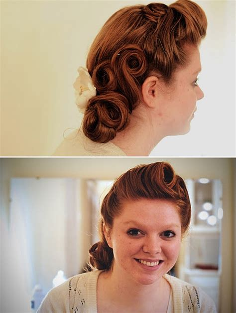 40s hairstyles pin curls 17 best images about fashion on pinterest vests updo