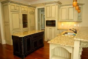 Antique Finish Kitchen Cabinets by Antique Glazed Cabinetry Traditional Kitchen Other