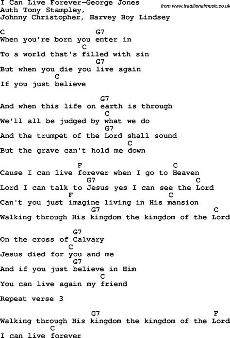Forever House Lyrics by Country Southern And Bluegrass Gospel Song I Can Live