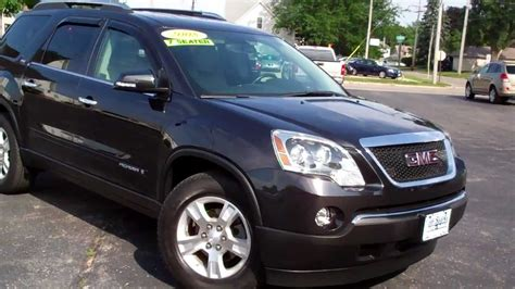 3rd seat suv 2008 gmc acadia 4dr suv 3rd row seat low low dekalb