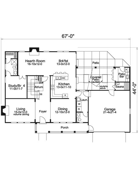 house plan 1761 square feet 57 ft house plan 4 beds 3 5 baths 2365 sq ft plan 57 585