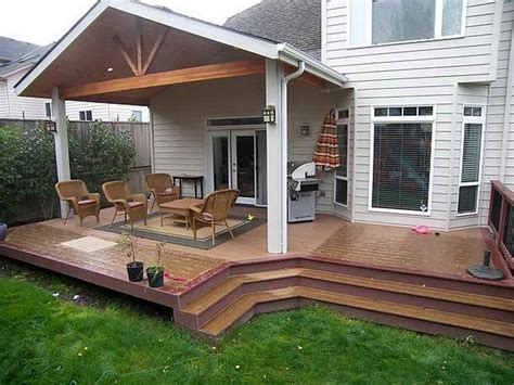 backyard deck covers small covered deck plans joy studio design gallery