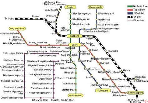 printable map hokkaido jr sapporo train map helped us in our travels picture