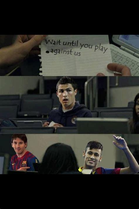 hahah love  fc barcelona real madrid neymar messi