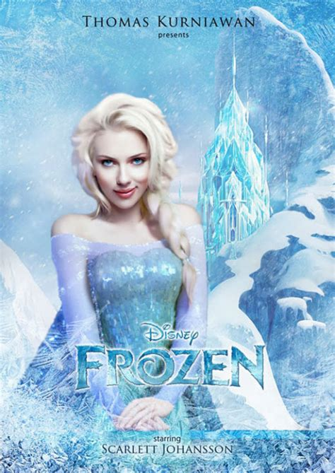 Johansson To Play Princess by As Real Disney Characters 22 Pics