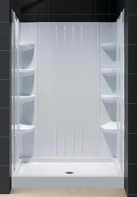Shower Base Kits by Trio Shower Base Backwall Kit