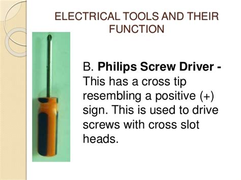 types of electrical accessories and their uses electrical tools and its function