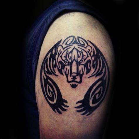 tribal bear paw tattoo 100 claw designs for sharp ink ideas