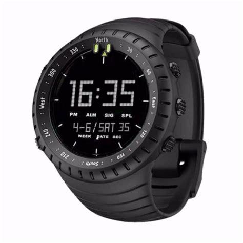 jam tangan sport outdoor pria digital hitam shopee