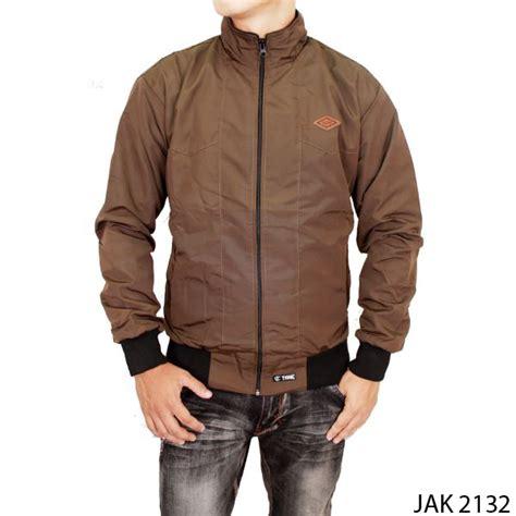 jaket keren pria parasut coklat jak 2132 gudang fashion