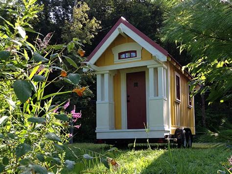 Tiny Cottage by 99 Sq Ft Anderjack Tiny Cottage On Wheels For 19 000