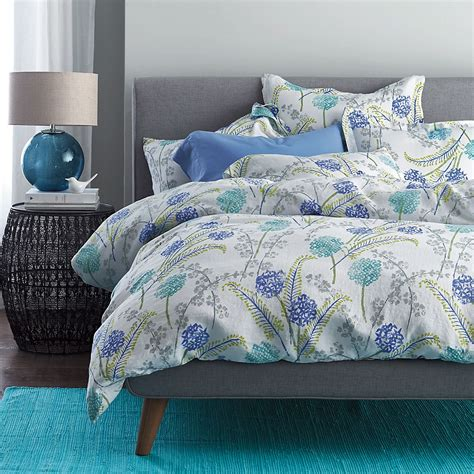 company store comforter summer meadow linen bedding the company store