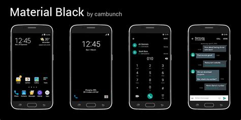 samsung themes material theme material themes by cambunch samsung galaxy s6