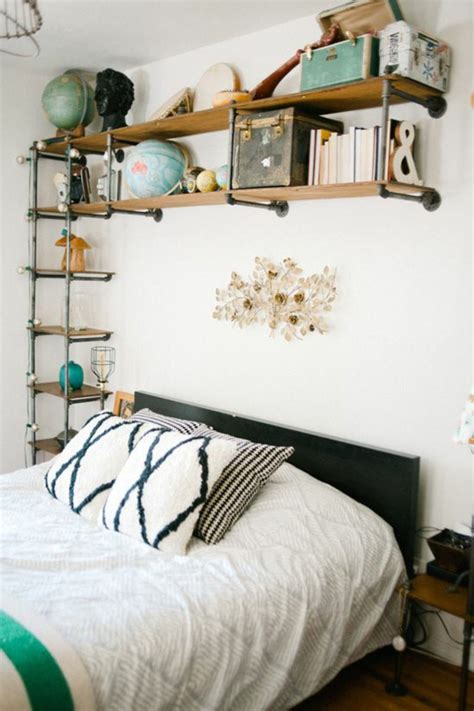 Bedroom Shelves | 33 interior design ideas with tube style for your home in